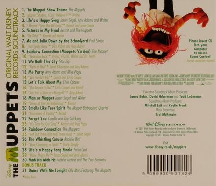 The Muppets : original soundtrack