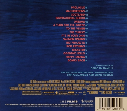 Salmon fishing in the Yemen : original motion picture soundtrack