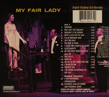 My fair lady : original Broadway cast recording