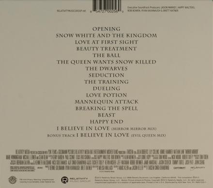 Mirror mirror : original motion picture soundtrack