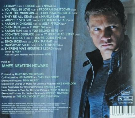 The Bourne legacy : original motion picture soundtrack