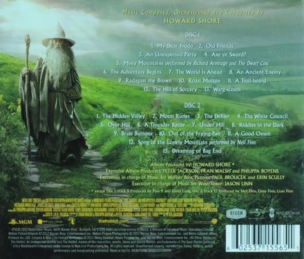 The Hobbit : an unexpected journey : original motion picture soundtrack