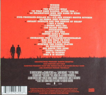 Django unchained : original motion picture soundtrack