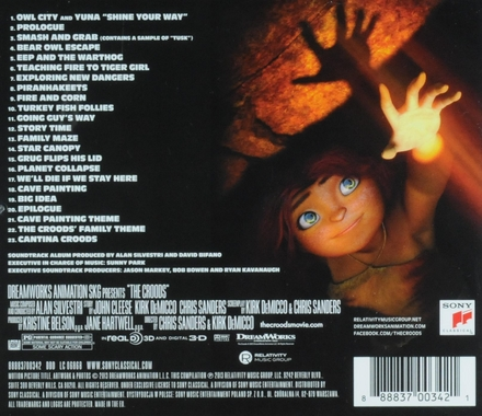 The Croods : music from the motion picture