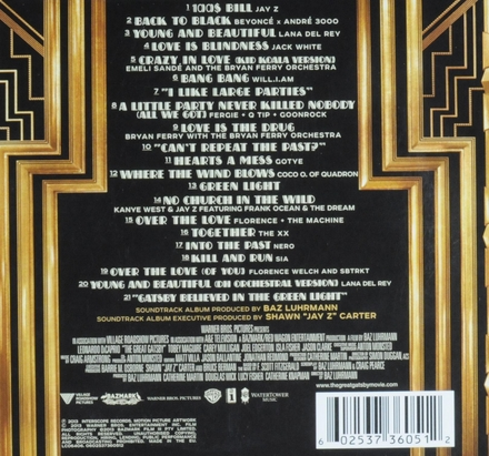 The great Gatsby : music from Baz Luhrmann's film