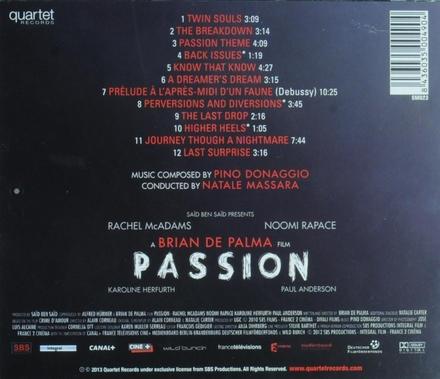 Passion : original motion picture soundtrack