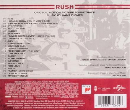 Rush : original motion picture soundtrack