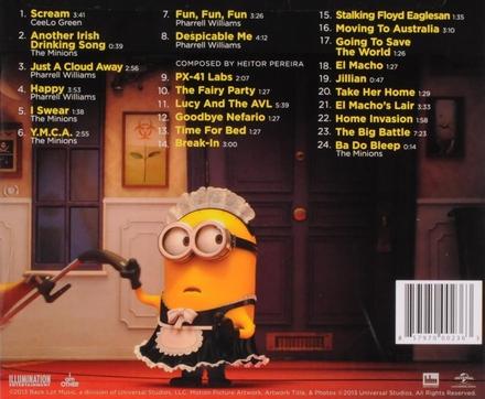Despicable me 2 : original motion picture soundtrack