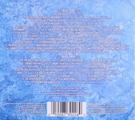 Frozen : soundtrack