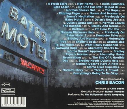 Bates motel : music from the A&E original series