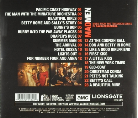 Mad men on the rocks : music from the television series