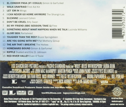 Wild : original motion picture soundtrack