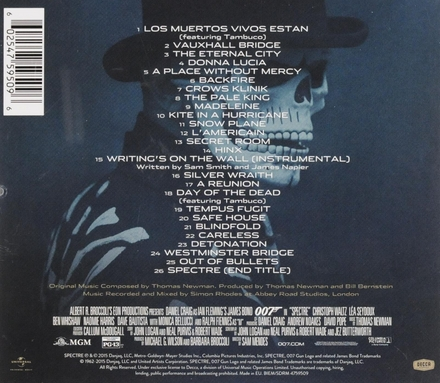 Spectre : original motion picture soundtrack