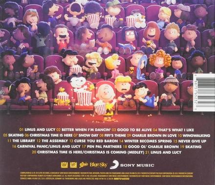 The peanuts movie : original motion picture soundtrack