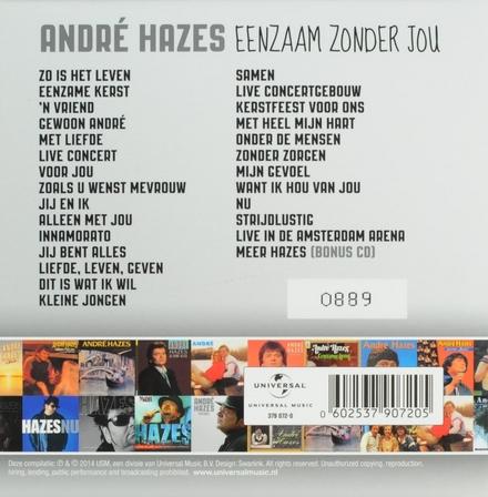 Eenzaam zonder jou : Het complete albumoverzicht