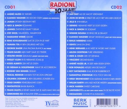 Radio NL 10 jaar. vol.1