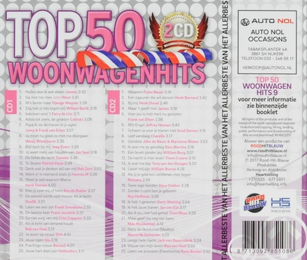 Top 50 woonwagenhits. vol.9