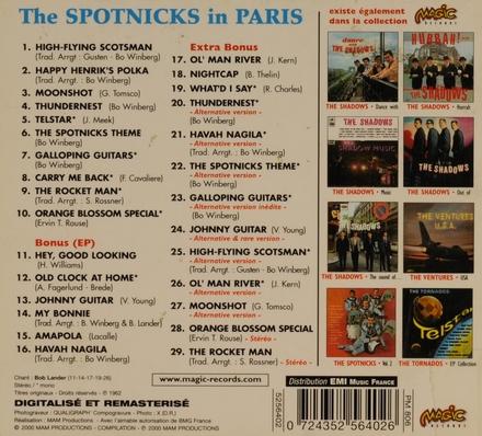 The Spotnicks. vol.1 : In Paris