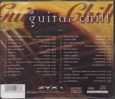 The world of guitar chill