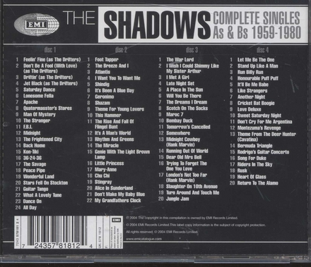 Complete singles As & Bs 1959-1980