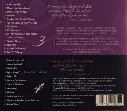 Ambience series 3+4 : Flamenco guitar + saxophone