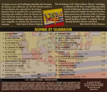 Rumba et guaracha 1938-1958