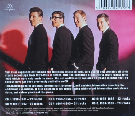 The early years : Their complete studio recordings 1959-1966