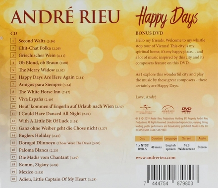 Happy days [deluxe edition]