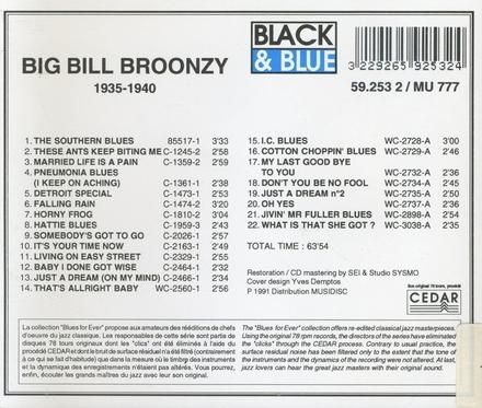 Big bill broonzy 1935 - 1940