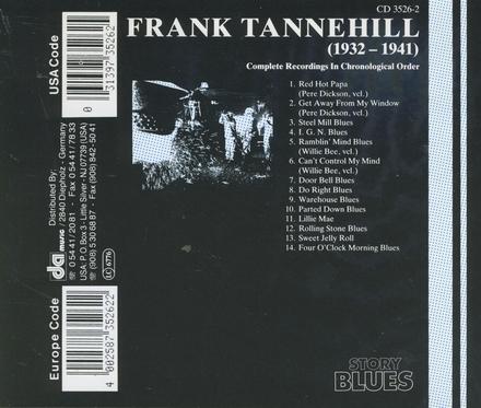 Frank Tannehill - 1932/41