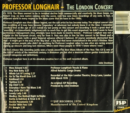 The complete London concert
