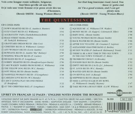 The quintessence : 1923-1933