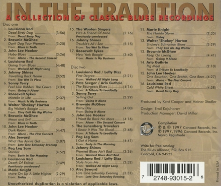 In the tradition : A collection of classic blues recordings