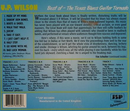 The Texas blues guitar tornado