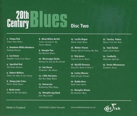 20th century blues. Disc 2