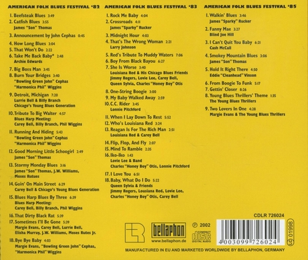 American folk blues festival : 1982/1983/1985