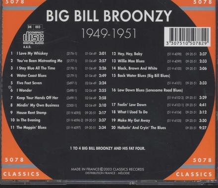 The chronological 1949-1951