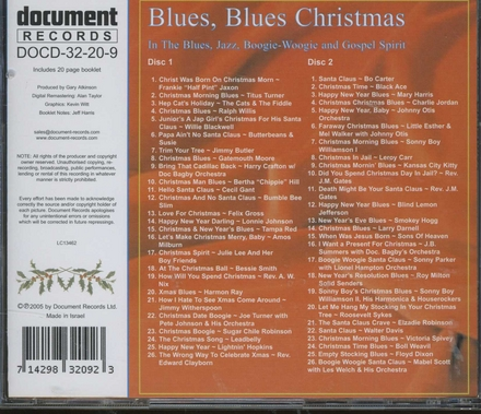 Blues blues Christmas : 1925-1955