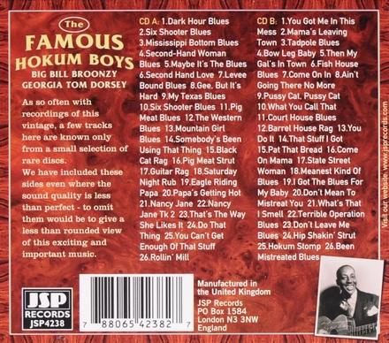 The famous Hokum boys