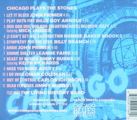 Chicago plays The Stones : Chicago blues experience
