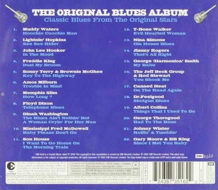 The original blues album : Classic blues from the original stars