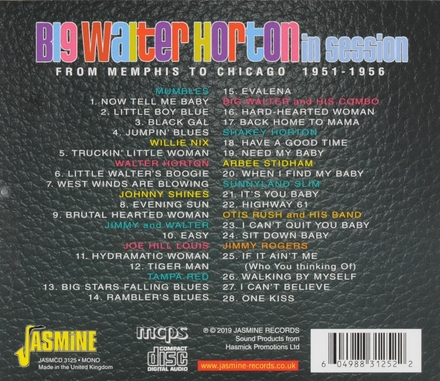 In session : From Memphis to Chicago 1951-1956