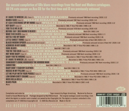 If I have to wreck L.A. : Kent & Modern Records blues into the 60s. Vol. 2