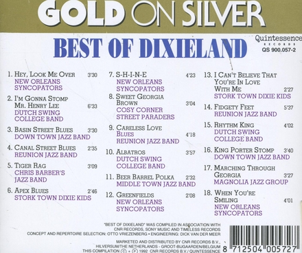 Gold on silver - best of dixieland