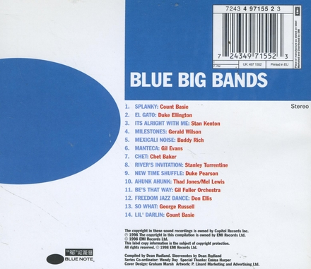 Blue big bands