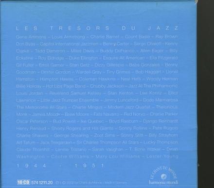 Les trésors du jazz : 1944-1951