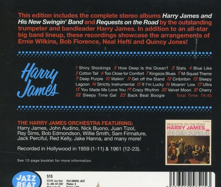 Harry James and his new swingin' band