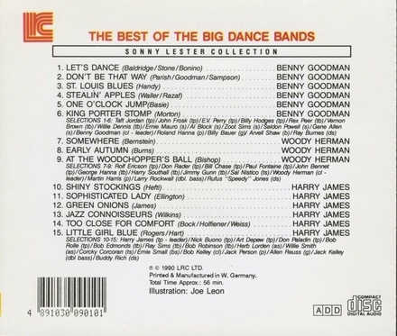 The best of the big dance bands