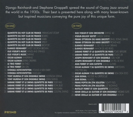 Gypsy jazz : The Primo collection
