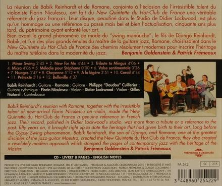 Nu Quintette du Hot Club Du France